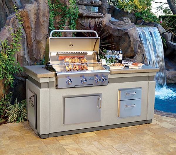 American Outdoor Grill: Grill Enhancements and New Island Bundles