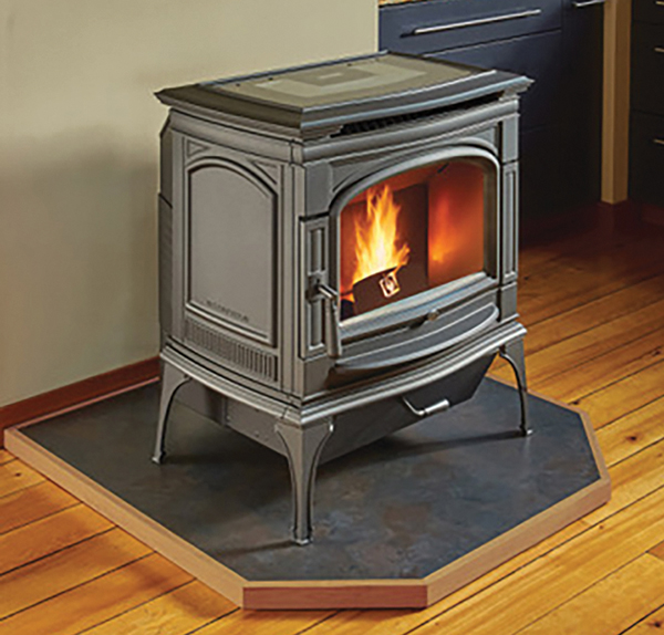 Deerfield Cast-iron Pellet Stove by Lopi