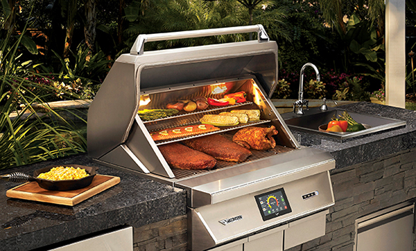 Wood Fired Pellet Grill & Smoker