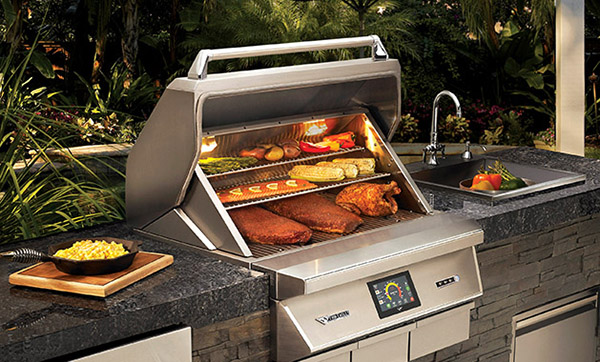 Wood Fired Pellet Smoker & Grill