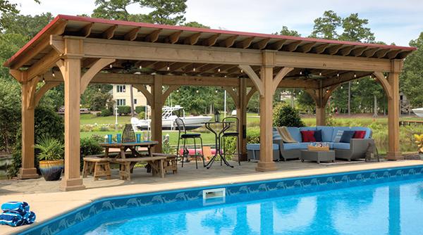 Country Lane's Santa Fe Pavilion