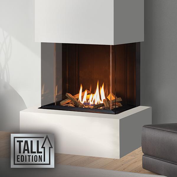 U30 Tall – Bay Fireplace