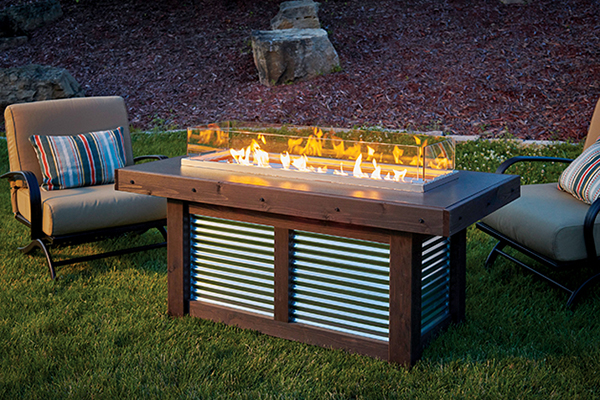 Denali Brew Gas Firepit Table