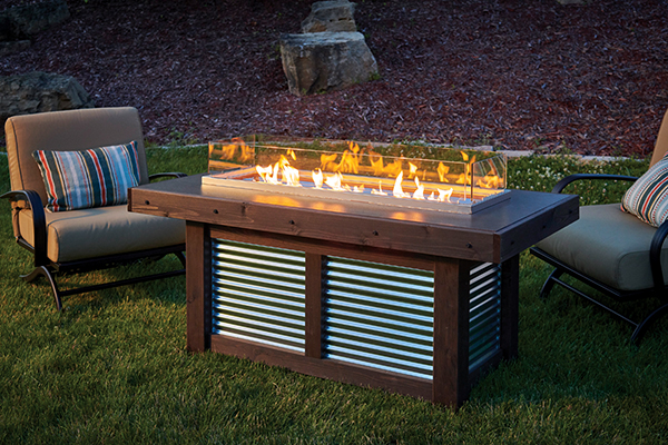 Denali Brew Gas Firepit Table